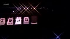 El cielo de San Antonio ya tiene otra estrella: los Spurs retiran la camiseta de Tony Parker
