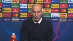 """Zidane: """"Estoy orgulloso de mis jugadores"""""""