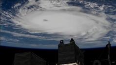 La EEI captura imágenes del huracán Dorian en pleno apogeo sobre el Atlántico