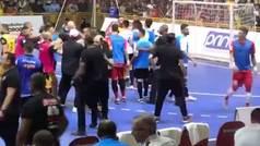 Tangana en Brasil en la Final del Campeonato Paulista