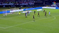 Gol de Iago Aspas (p.) (1-2) en el Celta 2-2 Rayo