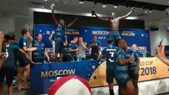 Locura en la sala de prensa: ¡los jugadores franceses no dejaron acabar a Deschamps!