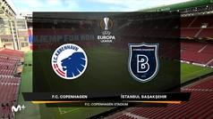 Europa League (octavos, vuelta): Resumen y goles del Copenhague 3-0 Estambul Basaksehir