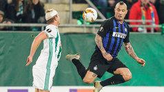 Europa League (1/16, ida): Resumen y gol del Rapid de Viena 0-1 Inter de Milán