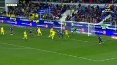 Gol de Longo (2-2) en el Huesca 2-2 Villarreal