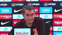"""Valverde: """"No es normal que nos piten tres penaltis en seis partidos""""."""