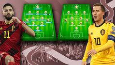 El dilema de Bélgica en esta Eurocopa: ¿con Hazard o sin Hazard?