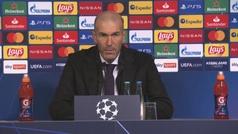 """Zidane: """"Estoy convencido de que pasaremos a la siguiente fase"""""""