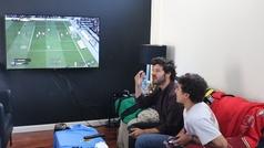 La entrevista más futbolera a Taburete