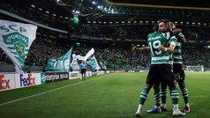 Europa League (Grupo D): Resumen y goles del Sporting Portugal 4-0 PSV