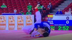 Asi se lesionó Niko Shera en el Grand Slam de Budapest