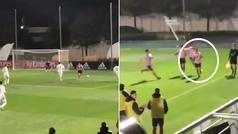 El golazo del hijo de Simeone para derrotar al Real Madrid: ¡ojo a la celebración!