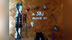 Ataque de creatividad: el increíble vídeo de un esquiador madrileño en su casa