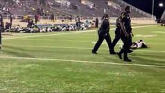 Un tiroteo causa el pánico durante un partido de fútbol americano en Alabama