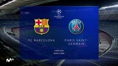 Champions League (Octavos ida): Resumen y goles del Barcelona 1-4 PSG
