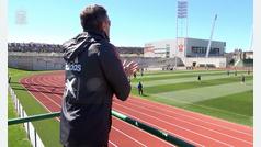 El andamio de Luis Enrique en la Ciudad del Fútbol