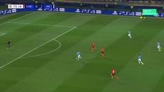 Gol de Gabriel Jesus (0-3) en el Shakhtar Donetsk 0-3 Manchester City