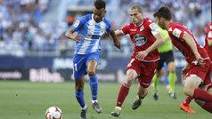 LaLiga 123 (playoff, semis): resumen y goles del Málaga 0-1 Deportivo