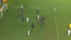 El último gol de Rodrygo con el Santos