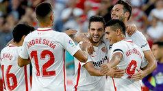 LaLiga (J8): Resumen y goles del Sevilla 2-1 Celta