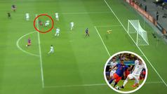 ¡Reventó la pelota! El brutal gol de Roger Martínez para hundir a Argentina