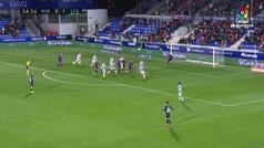 Gol de Mantovani (1-1) en el Huesca 2-1 Leganés