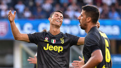 Así fue el debut de Cristiano Ronaldo en la Serie A con la Juventus