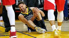 Lo que le faltaba a los Warriors: Lesión de Klay Thompson... ¡y regreso épico!
