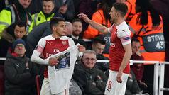 Europa League (cuartos, ida): Resumen y goles del Arsenal 2-0 Nápoles
