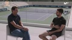 """La derrota de Federer que más le dolió a Rafa Nadal, """"fue dura"""""""