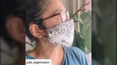 El vídeo viral que enseña a fabricar una mascarilla casera en pocos segundos
