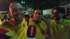"""""""¡Queremos a Brasil y hacerle lo mismo que Alemania!"""""""