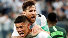 La broma de Marcos Rojo a Messi que se terminó volviendo en su contra