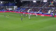 Gol de Mantovani (2-1) en el Huesca 2-1 Leganés