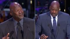 Las anécdotas de Jordan y Shaquille O'Neal en el funeral de Kobe que sacaron una sonrisa