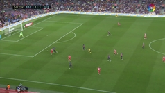 Gol de Stuani (1-2) en el Barcelona 2-2 Girona