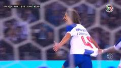 El primer gol de Fábio Silva en la Liga portuguesa... con 17 años