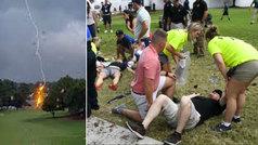 Múltiples heridos tras caer un rayo en la final de la FedEx Cup