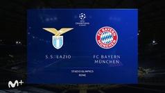 Champions League (octavos ida): Resumen y goles del Lazio 1-4 Bayern