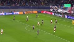 Gol de Forsberg (2-2) en el RB Leipzig 2-2 Benfica