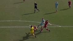 Genialidad en forma de amago, pisada y gol en el Liverpool-Arsenal femenino