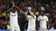 Copa del Rey (cuartos/ida): Resumen y goles del Sevilla 2-0 Barcelona