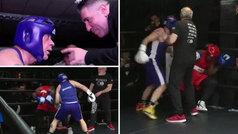 Los mejores momentos del combate de boxeo de Alfredo Duro contra Fabrice