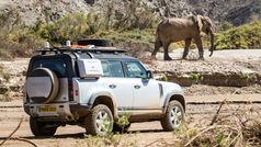 El Land Rover Defender 2020, a prueba en Namibia
