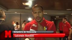"""Salomón Rondón atiende a MARCA en la previa contra Argentina: """"Estoy contento por lo que vengo haciendo en el Newcastle"""""""