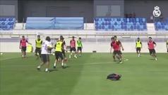 """Las primeras instrucciones de Raúl en el Castilla: """"Aquí no nos rendimos nunca"""""""
