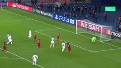 Gol de Milner (p.) (2-1) en el PSG 2-1 Liverpool