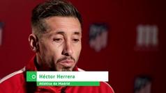 """Héctor Herrera: """"El Granada es un rival fuerte y complicado"""""""