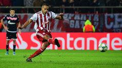 Champions League (Grupo B): Resumen y gol del Olympiacos 1-0 Estrella Roja