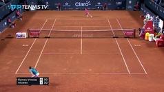Así fue la victoria de Carlos Alcaraz contra Albert Ramos (7-6, 4-6, 7-6)